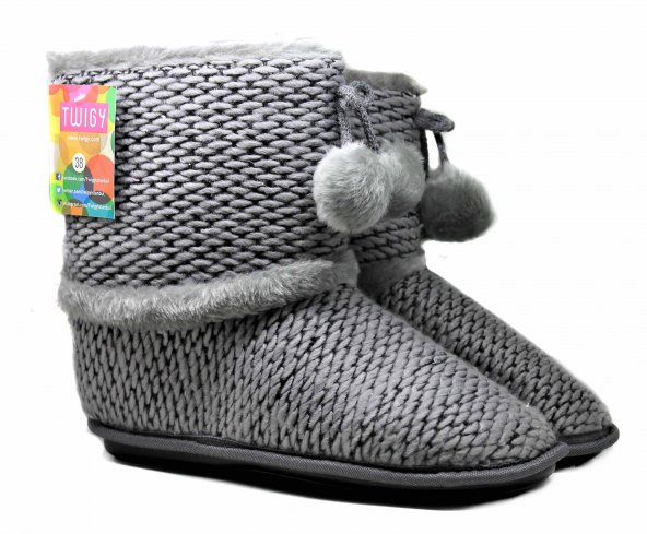 Twigy Kamchatka NN0106 Bayan Ev Ayakkabısı Ev Botu Panduf