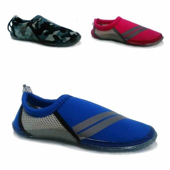 Serabian Bayan Deniz Ayakkabısı Erkek Deniz Ayakkabısı Plaj Aqua