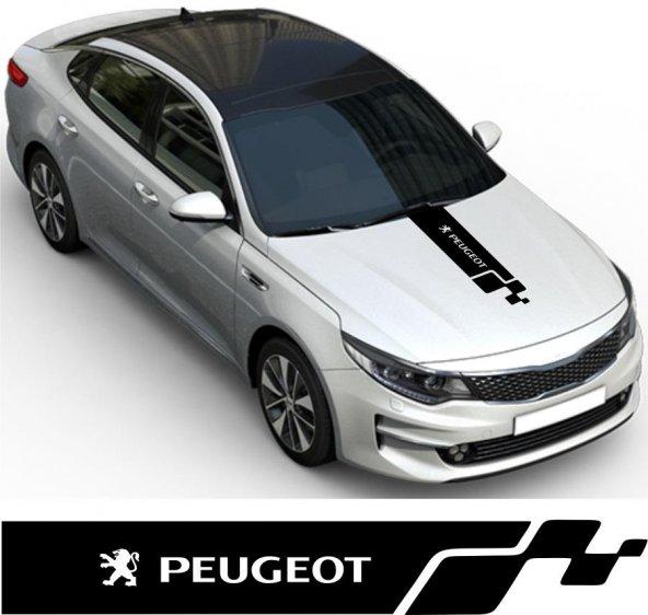 Peugeot Kaput Oto Sticker