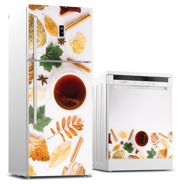 Buzdolabı ve Bulaşık Makinesi İkili Sticker Seti - BBM000000038