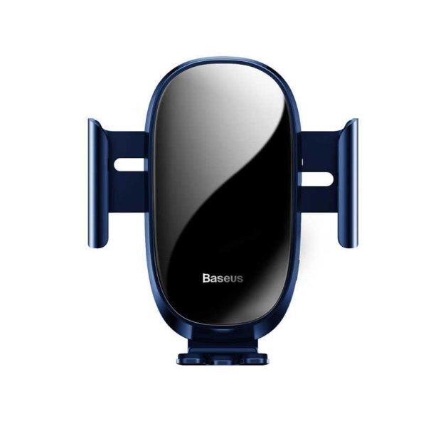 Baseus Smart Car Mount Cell Phone Holder Telefon Tutucu Mavi