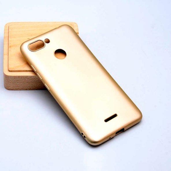 Xiaomi Redmi 6 Kılıf Premier Silikon Kapak-Gold