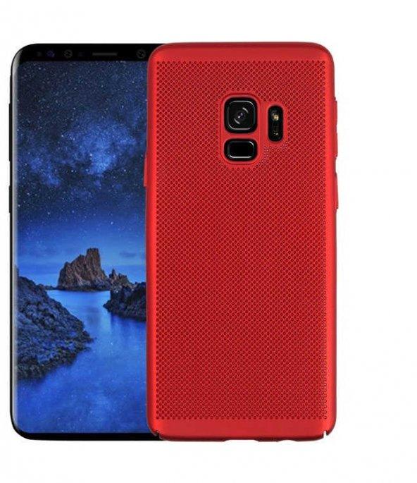 Samsung Galaxy A8 2018 Kılıf Delikli Rubber Kapak