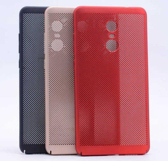Xiaomi Redmi Note 4X Kılıf Delikli Rubber Kapak