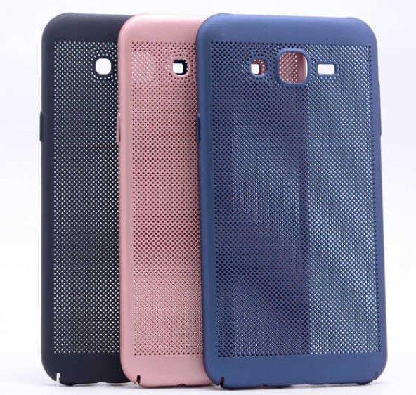 Samsung Galaxy J7 Core Kılıf Delikli Rubber Kapak