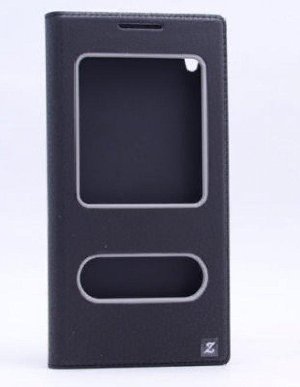 Sony Xperia XA Ultra Kılıf Dolce Case kapaklı siyah