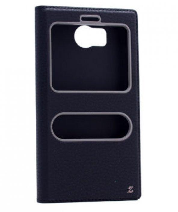 Vestel Venüs V3 5580 Kılıf Dolce Case kapaklı siyah