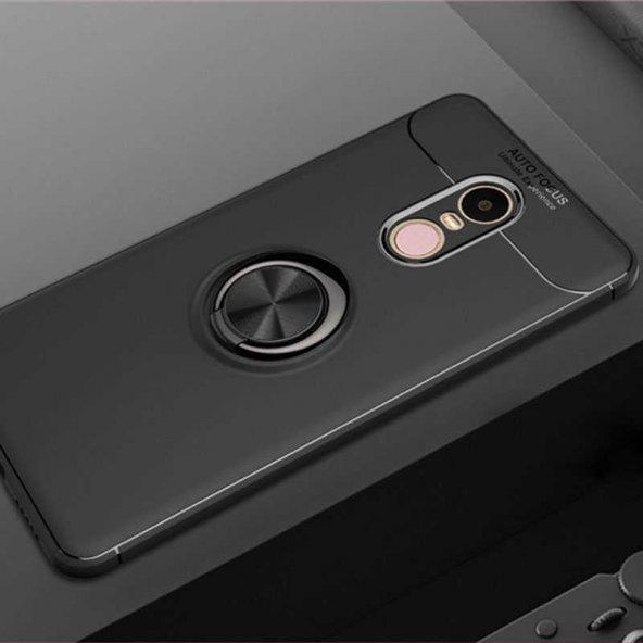 Xiaomi Redmi Note 4X Ravel Silikon Kılıf kapak Siyah
