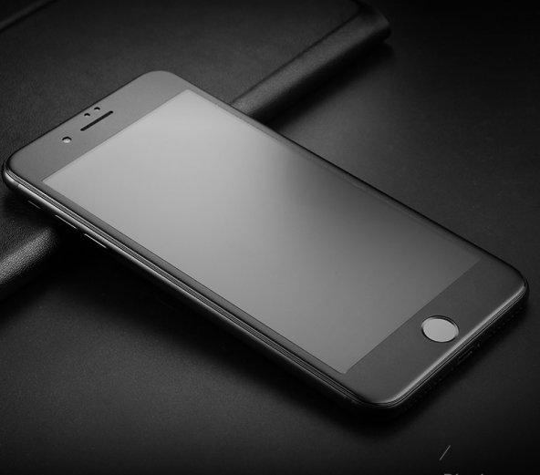 Apple iphone 6 3D Mat Cam Ekran Koruyucu