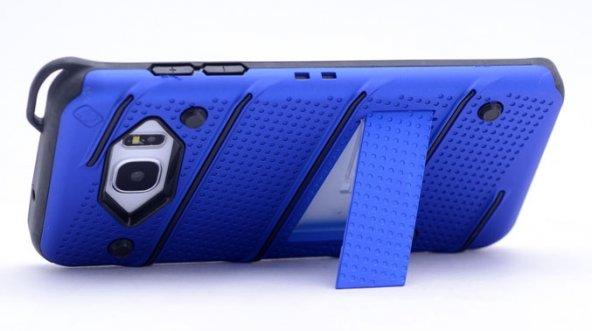 Samsung Galaxy Note5 Kılıf Iron Standlı Sabitlenebilir Arka Kapak