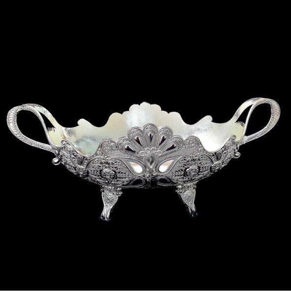 Gümüş Gondol Ayaklı Telgari Büyük Boy – 9001L