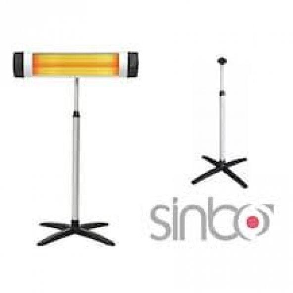 Sinbo infrared  2500w elektrikli ısıtıcı elektrikli soba AYAKLI
