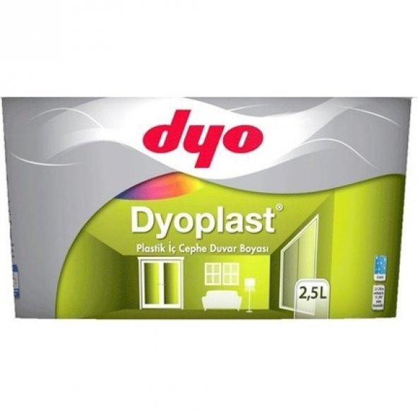 Dyo Dyoplast Plastik İç Cephe Boyası 2.5 Lt ( TÜM RENKLER )