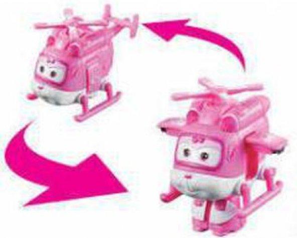 Harika Kanatlar Oyuncak Dizzy - Mini Helikopter Figür Robot - 6 c