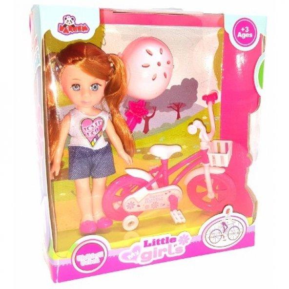My Little Girls Bisikletli Bebek 021894