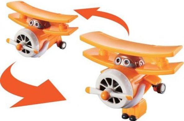 Harika Kanatlar Grand Albert - Robota Dönüşen Mini Uçak Figür - 6