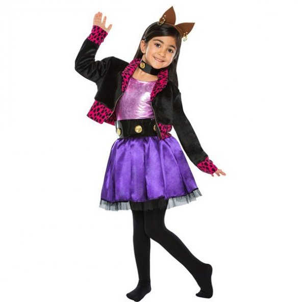 Monster High Kostümü - Clawdeen Wolf Kostümü