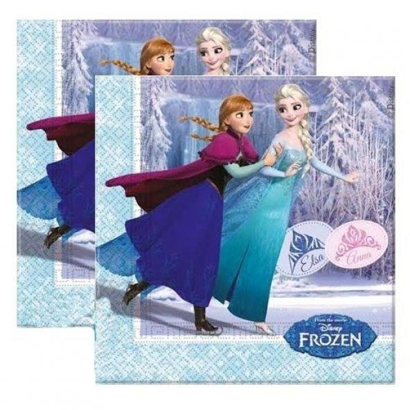 Frozen Peçete - Elsa Peçete 20li