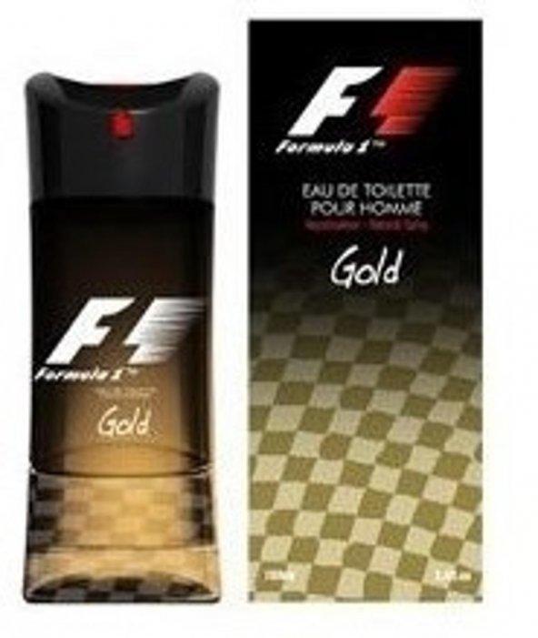 Formula 1 Gold Pour Homme Edt 100 Ml Erkek Parfümü