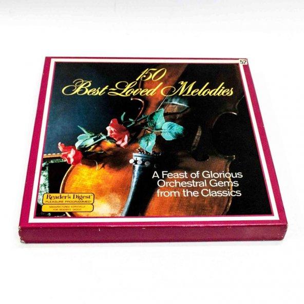 Plak-150 Best Loved Melodies 8xLP