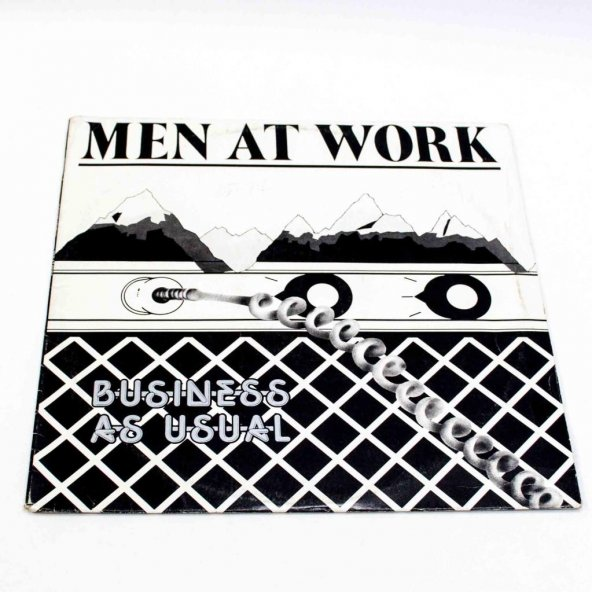 Plak-Men At Work-Business As Usual