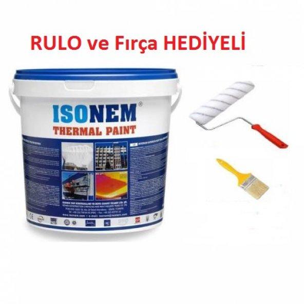 İsonem Thermal Paint Isı Yalıtım Boyası 10 lt. HEDİYELİ