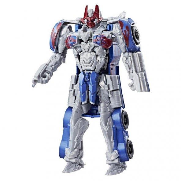 Transformers TF5 Turbo Changers Hızlı Dönüşen Figür Optimus Prime