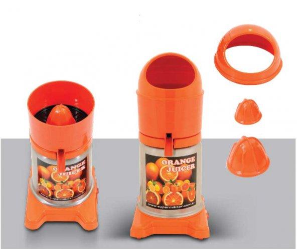 Süpermikser Motorlu Portakal Sıkma Makinası