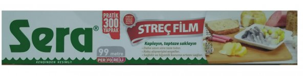 Sera Streç Film 30cm X 99m Perforeli
