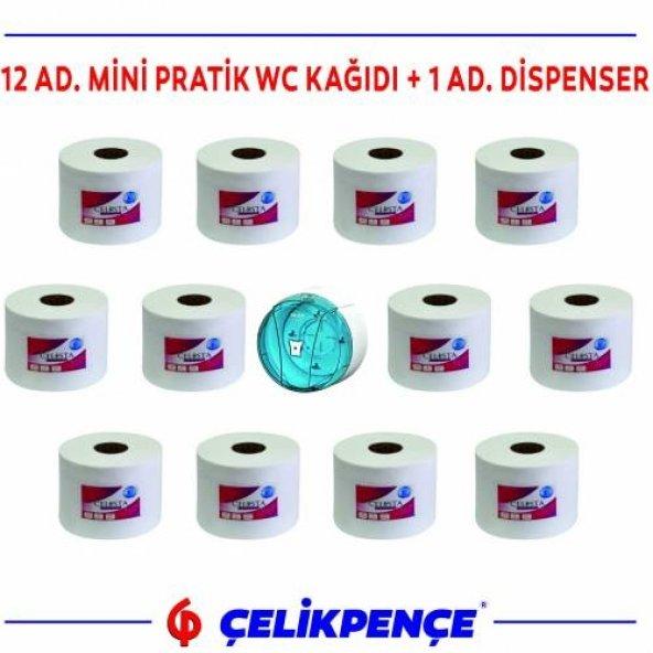 İçten Çekmeli WC Kağıdı + Dispenser