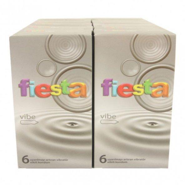 Fiesta Kondom Vibe Titreşim Halka Hediyeli 12 Kutu
