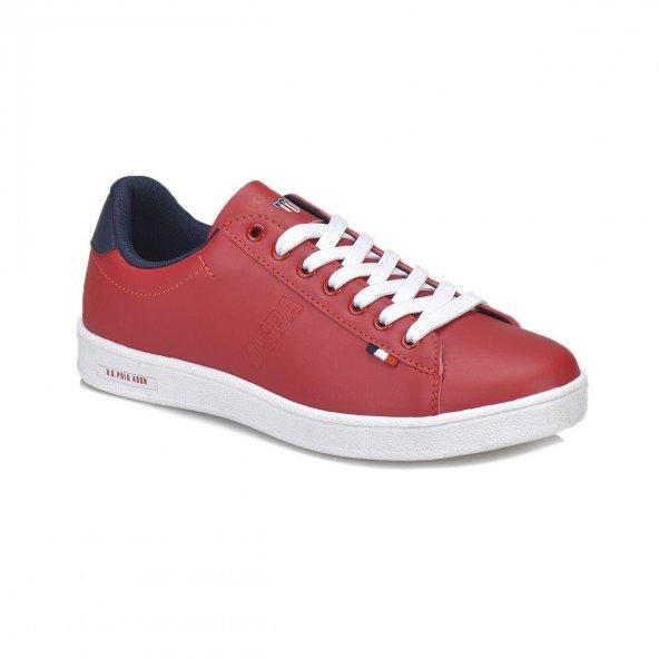 Polo Franco 100249589 Kadın Günlük Kırmızı Sneaker