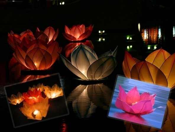 Nilüfer (Çiçek) Su Feneri
