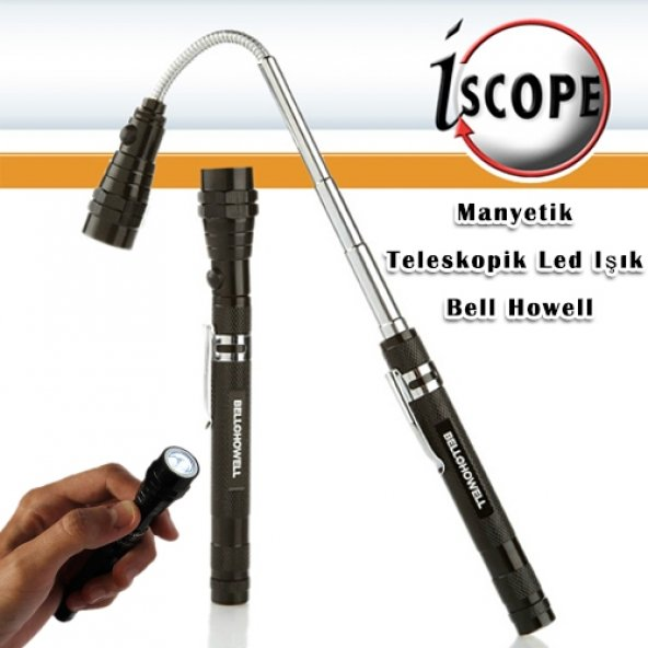 Manyetik Teleskopik Led Işık Bell Howell