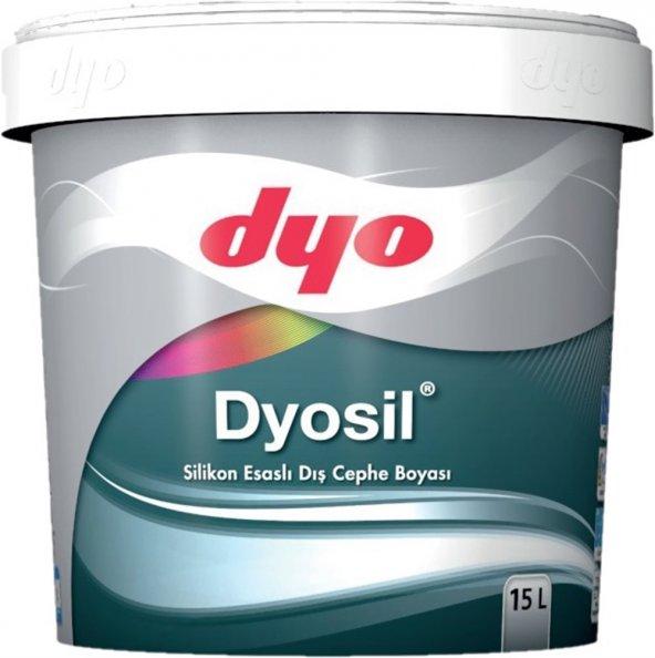 Dyo Dyosil Silikonlu Dış Cephe Boyası 7.5 Lt ( TÜM RENKLER )