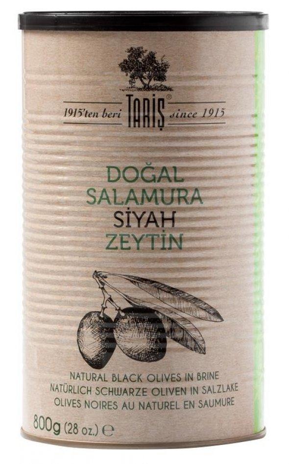 Tariş Doğal Fermente Salamura Siyah Zeytin