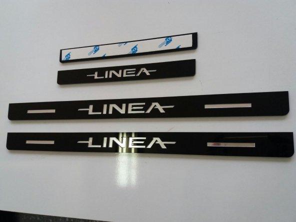 Fiat Linea Plastik Kapı Eşiği (4lü Set)