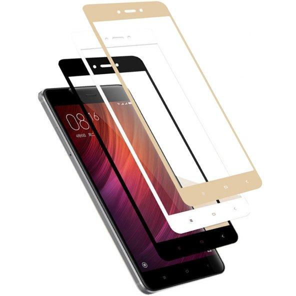 Xiaomi Redmi Note 4 4x Kırılmaz 2.5D Cam Ekran Koruyucu Tam Ekran