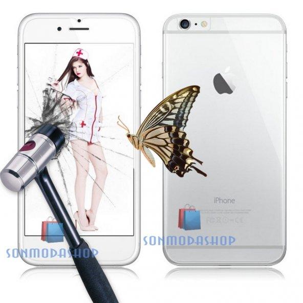 iPhone 7 7 Plus iPhone 6 6S Plus Kırılmaz Ön+Arka Cam Ekran