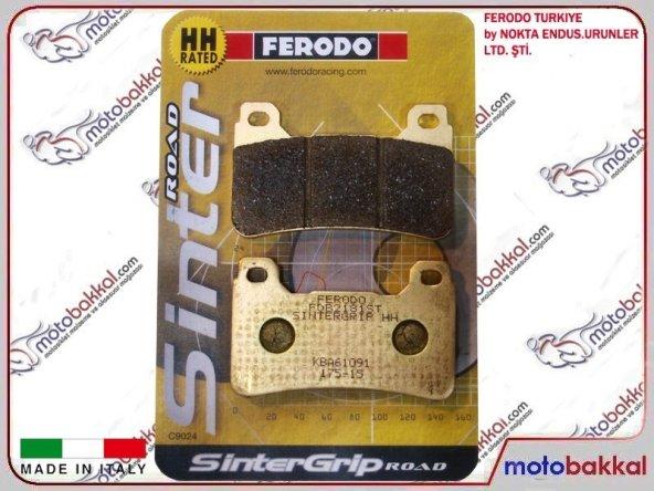 Honda CBR 1000 RR Fireblade ABS 2009-2014Ön Sağ Sol Fren Balata