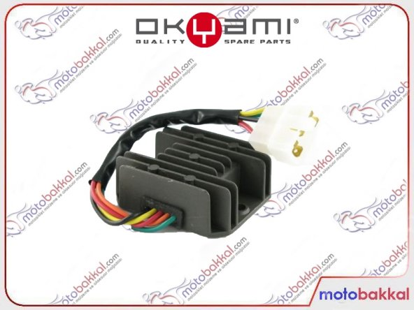 Kymco Agility R16 200 2010-2014 Okyami Konjektör Regülatör