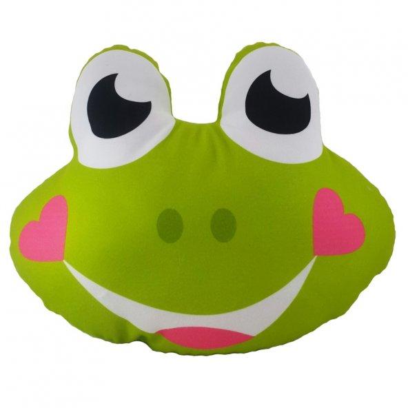Kurbağa Figürlü Yastık Y65