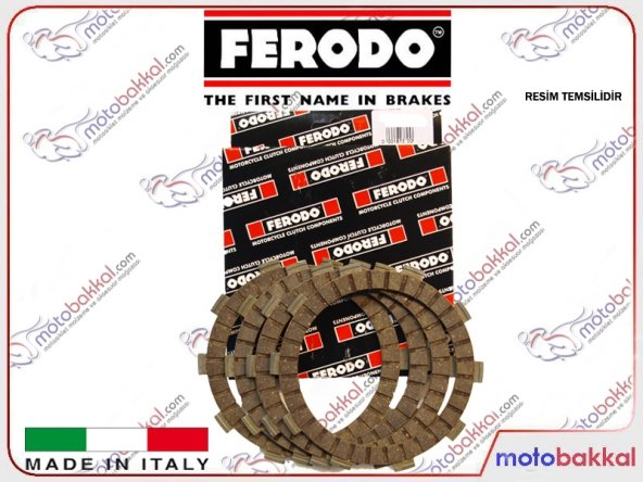 Aprilia RSV 1000 Mille 1998-2002 Ferodo FCD0586 Debriyaj Balatası