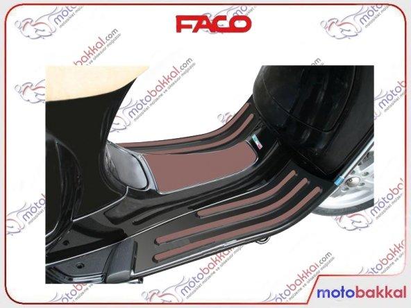 Vespa LX - LXV - S 125 - 150 FACO Şerit Paspas Seti Kahverengi