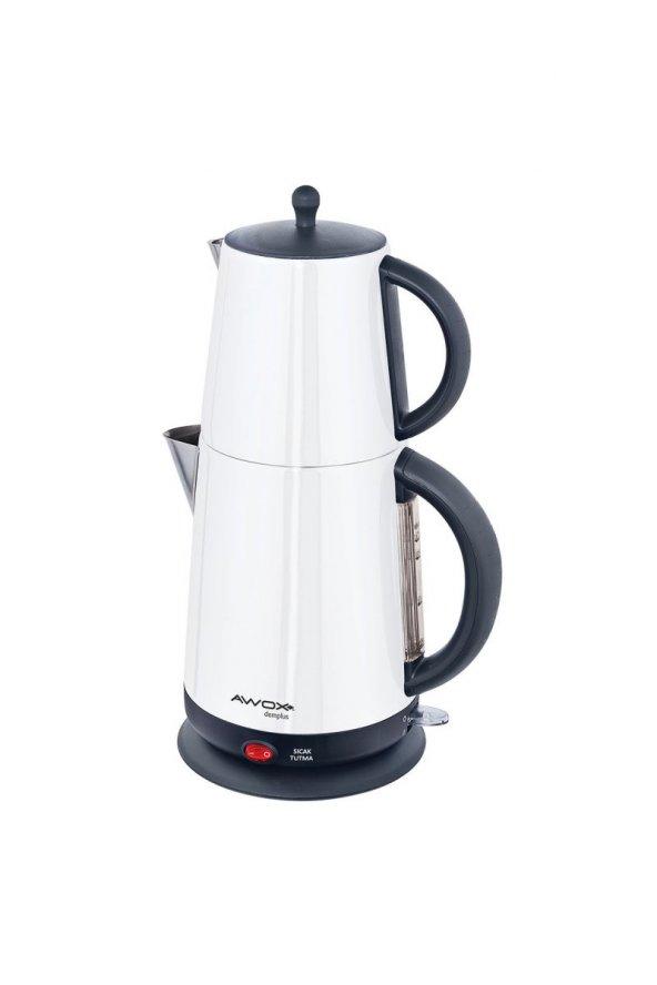 Awox Demplus Çay Makinesi Beyaz