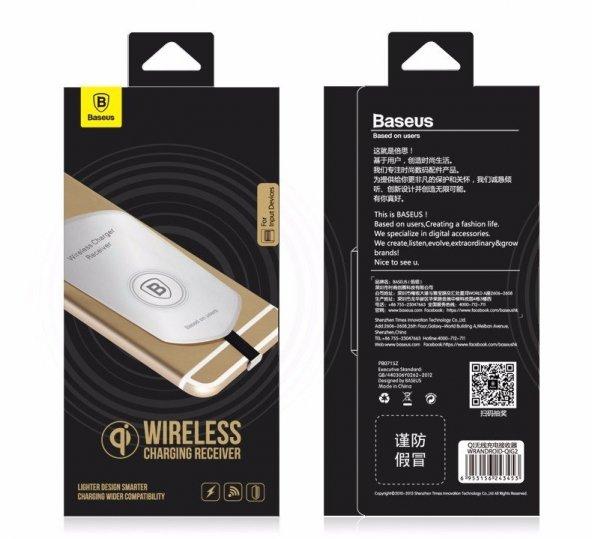 Apple iPhone Kablosuz Şarj Adaptörü Baseus Lightning Wireless Şar