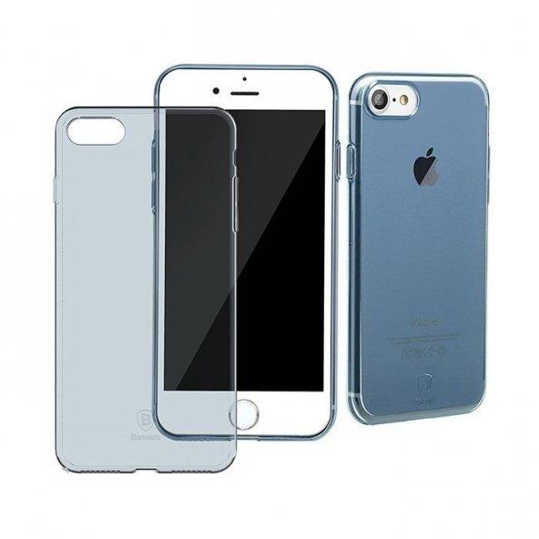 Baseus Simple Mavi iPhone 8 Kılıf Arka Koruyucu Kapak
