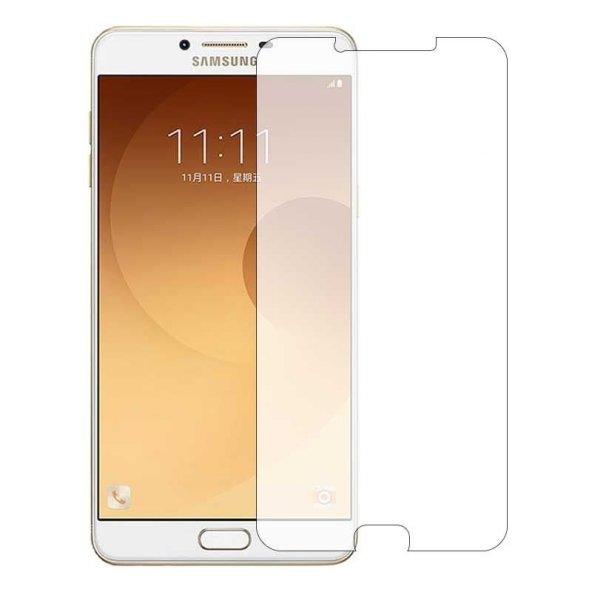 Samsung Galaxy C9 Pro Kırılmaz Cam Temperli Ekran Koruyucu