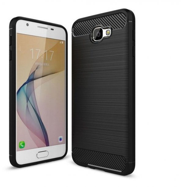Samsung Galaxy J7 Prime Kılıf Rush Arka Kapak + Ekran Koruyucu Te