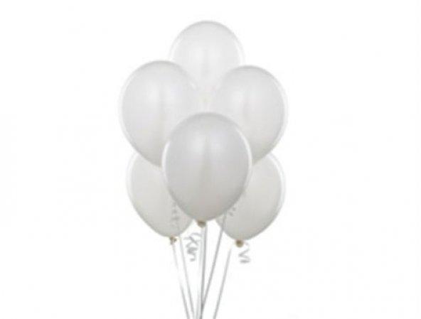 Balon 100 Adet - Beyaz